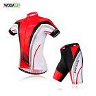 Mens Cycling Bicycle Outdoor Short Sleeves Shirts Jersey+(Bib) Shorts for NEW!
