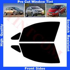 Pellicola Oscurante Vetri Auto Anteriori per Opel Corsa D 5porte 2007- da5% a70%