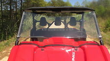 2014-17 Yamaha 700 Viking Tinted Full Front Windshield- 1/4 Thick Polycarbonate!