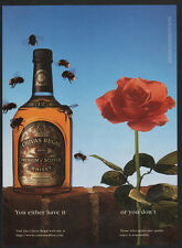 1997 CHIVAS REGAL Blended Scotch Whisky - Bees - Flowers VINTAGE AD