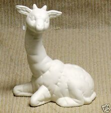 Ceramic Bisque Stuffed Giraffe Kimple Mold 954 U-Paint Ready To Paint