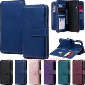 For LG Velvet / OnePlus Nord 5G Wallet Card Holder Flip Leather Phone Case Cover