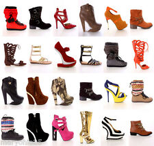 Lot Wholesale 75 Women Mixed High Heel Platform Evening Pumps Stilletos Shoes
