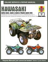 1988 Kawasaki Bayou 220 Haynes Online Repair Manual - Select Access