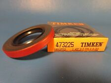 Timken Oil Seal 473225, National, Dual Lip with One Spring, Usa
