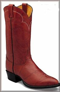 Tony Lama 5084 Men's Chocolate Cow Western Cowboy Boots 6.5 4E