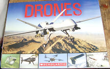 Drones Scholastic young adult book ages 8 and up 40 types neat informational