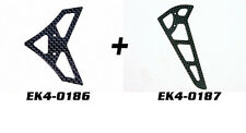 Esky EK4-0186+EK4-0187 Horiz+Vert Tail Blade Carbon Fibre set For King2