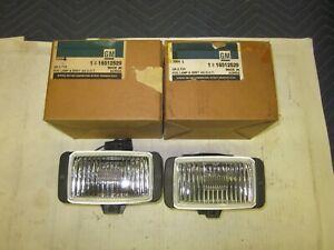 NOS 1991-95 Pontiac Grand Prix GTP GM Fog Lamps 16512529 Buick Chevy Oldsmobile
