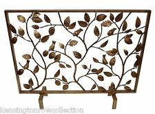 "FIREPLACE SCREENS - ""CHELSEA GARDEN"" DECORATIVE FIRE SCREEN - FIRE PLACE SCREEN"
