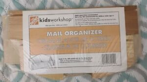 Home Depot Kids Workshop DIY Wood Activity Mail Organizer Kit