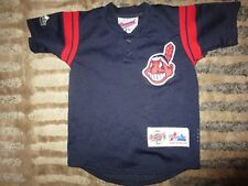 Cleveland Indians MLB Baseball Chief Wahoo majestic Jersey Toddler 2T