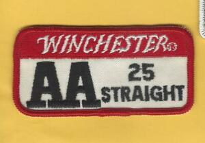 Winchester AA 25 Straight Shotgun Shooting patch