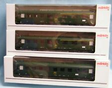 "Marklin ""SNCF"" Coaches  X  3"