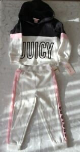 Juicy Couture Girl's  Tracksuit- 2 Piece Set (3 Years)