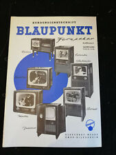 Original Service Manual Blaupunkt Fernseher Jahrgang 1955/56 Corona Colombo...