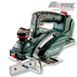 Metabo Akku-Hobel HO 18 LTX 20-82 Hobelmaschine Falzhobel Zimmermannhobel