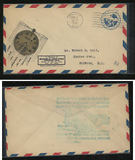 US Elgin watch  ad airmail special  cover  1931              MS0905