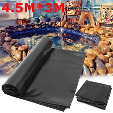 178'' X 118'' Fish Pond Liner Reinforced HDPE Heavy Duty Guaranty Landscaping US