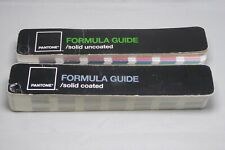 2 Pantone Formula Guides - Coated and Uncoated