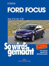 Reparaturanleitung Ford Focus 3 von 2011-2018 Wartungsbuch So wirds gemacht 155