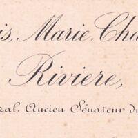 Louis Marie Charles Riffardeau De Rivière Lavaux 1890