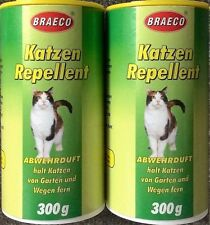 BRAECO Katzen-Schreck,vertreibt Katzen 100g/1,38€ Katzen Fernhaltemittel EX KH