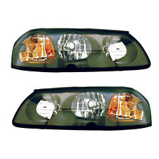 00-04 Chevy Impala Headlight Assembly Driver Passenger Side Pair