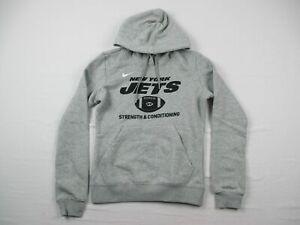 New York Jets Nike Sweatshirt Women's Gray Cotton NEW Multiple Sizes