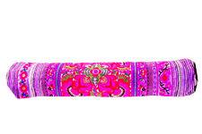 Handmade Fabric Yoga Mat Bag Accessory Carrier Gym Tribal Art Thai Craft Flower