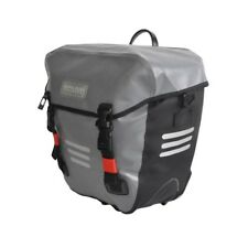 Alpha Plus Single Pannier Bag 20l Water Proof Grey (single or Pair Available)