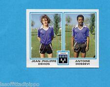 FRANCIA-FOOTBALL 80-PANINI-Figurina n.457- DEHON+DOSSEVI - TOURS -Rec