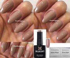 Bluesky 63922 Beige Tan Autumn Winter Nail GEL Polish LED UV Soak off Wipes