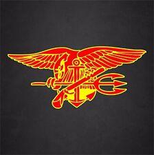 US Navy Seal Insignia Badge Veteran Vinyl Graphics Decal Sticker Car Window