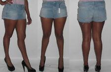 Topshop Denim Hot Pants Mid Rise Shorts for Women