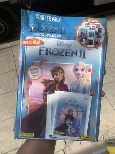 Panini Disney Frozen 2 Sticker Album Free 22 Stickers 4 Cards & Card Holder