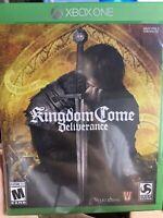 Kingdom Come: Deliverance (Microsoft Xbox One, 2018) - Never Opened