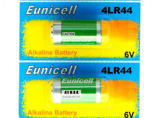 2x 4LR44 6v batteries Alkaline  PX28A 476A A544 4A76 battery by Eunicell