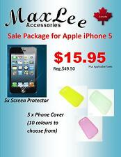 Apple iPhone 5/5S Sale Package -Ships from ON, Canada