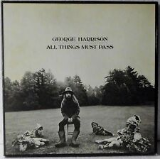 George Harrison - All Things Must Pass - 3 x Vinyl EX | 3x LP, Box Set + Poster