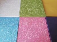 40 x A5 Quality Vellum Includes Embossed Paper Assorted Designs Crafting Craft