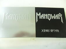 Manowar-Gods of War LIMITED EDITION-CD + DVD-Steelbook/Leather BOOKLET libretto