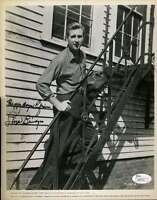 Lloyd Bridges Jsa Coa Hand Signed 8x10 Photo Authenticated Autograph