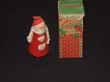 Vintage Wilson Walkies Santa Claus Ramp Walker Christmas Toy Box Antique (g136