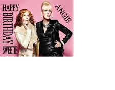 PERSONALISED ABSOLUTELY FABULOUS AB FAB JOANNA LUMLEY PATSY  Birthday card A5