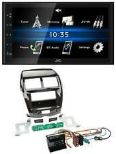 JVC USB 2din Bluetooth mp3 aux radio del coche para citroen c4 mitsubishi asx peugeot 4