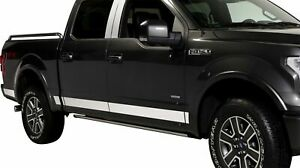 Putco For 2016 - 2017 Nissan Titan XD STAINLESS STEEL ROCKER PANELS - 9751898
