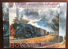 Howard Fogg Local Freight Train to Ft. Collins Ref. 9.522 1000 PUZZLE Fink & Co.