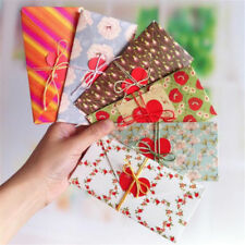 5X Folding Heart Christmas Greeting Card Birthday New Year Gift Best Wishes