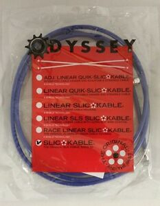 ODYSSEY SLIC-KABLE 1.5mm BMX BICYCLE BRAKE CABLE BLUE